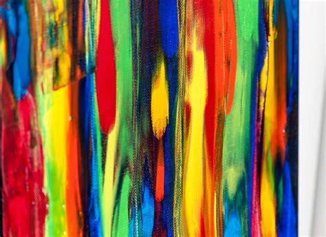 tribal colors tribal colors iii maleri med en eksplosion af farver