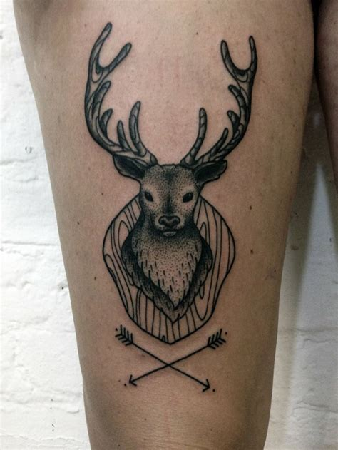small deer tattoos 282 best tattoos deer images on ideas