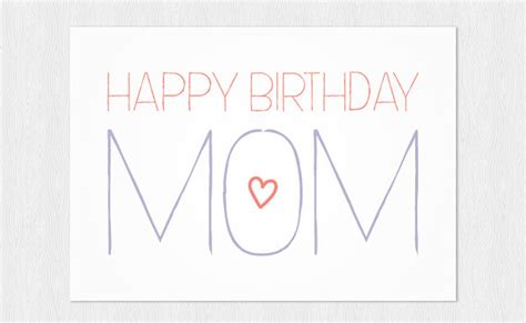 printable happy birthday mother cards greeting card for mom wblqual com