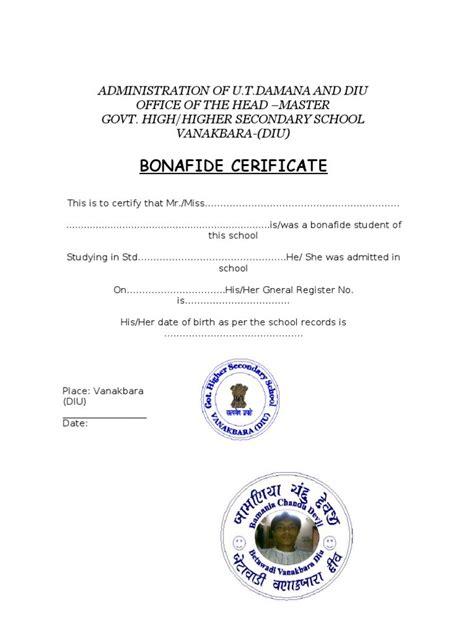 College Bonafide Letter new request letter format bonafide certificate ssoft co