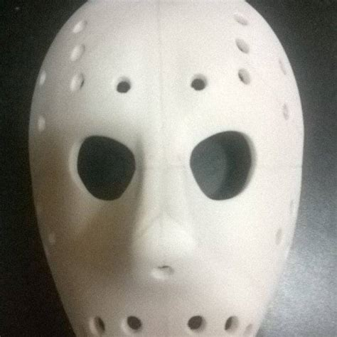 printable jason mask 3d printable jason mask full size by alan stanford
