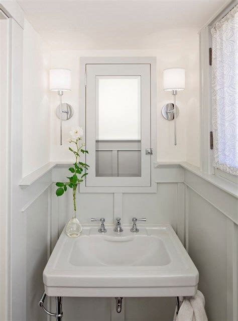 gray and cream bathroom sarah richardson cream grey white striped bathroom http
