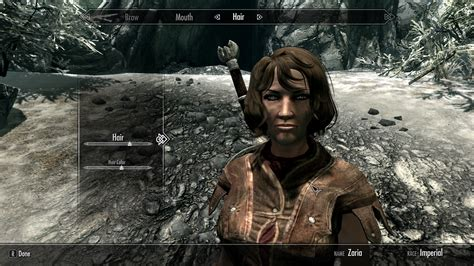 skyrim hair mods skyrim nexus mods and community