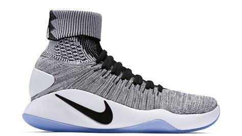 Sepatu Basket Nike Hyperdunk 2017 High Flyknit Black nike hyperdunk 2016 flyknit oreo release date sbd