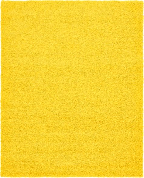 tuscan yellow tuscan sun yellow 8 x 10 solid shag rug area rugs