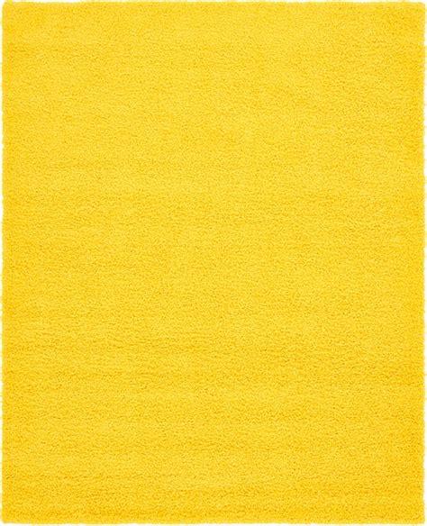 tuscan yellow tuscan sun yellow 8 x 10 solid shag rug area rugs irugs uk