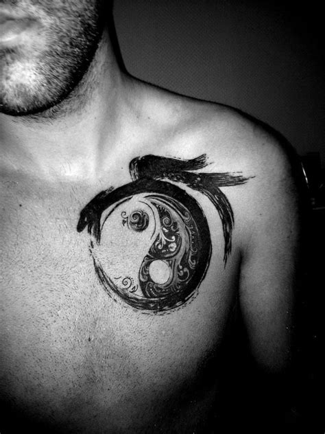 yin yang lightning anchor and sun temporary tattoo knuckle best 25 meaningful tattoos for men ideas on pinterest