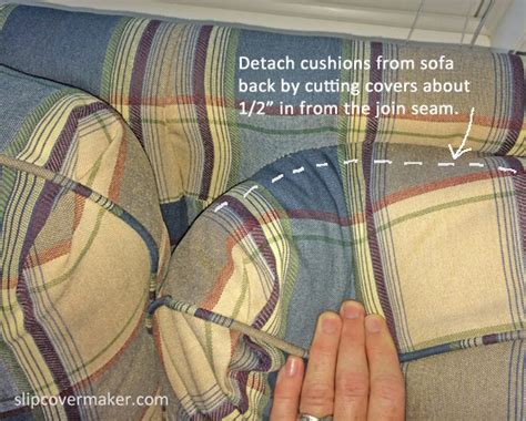 how to reupholster a sofa with attached cushions how to slipcover a sofa with attached cushions sofa