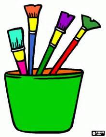 paint pot coloring printable paint pot