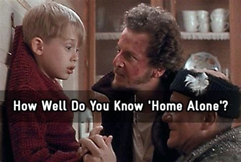 how well do you home alone trivia quiz zimbio