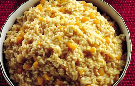 ricette per cucinare la zucca gialla ricetta risotto alla zucca gialla le ricette de la