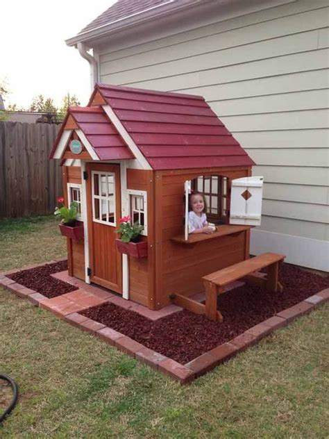 backyard playhouses 17 of 2017 s best pallet playhouse ideas on pinterest