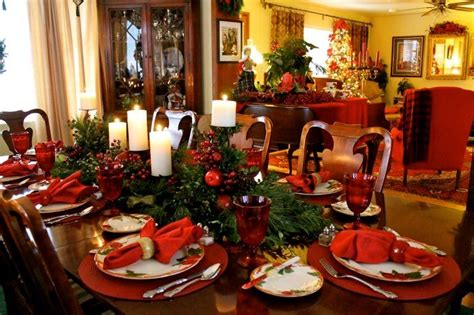 Christmas Table Setting by 40 Christmas Table Decors Ideas To Inspire Your Pinterest