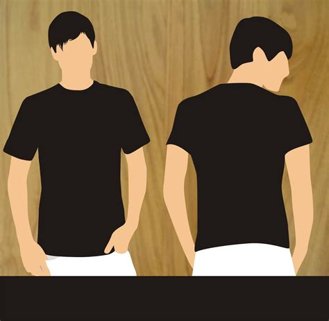 New Black Kaos Hd vizart clothing kaos polos hitam