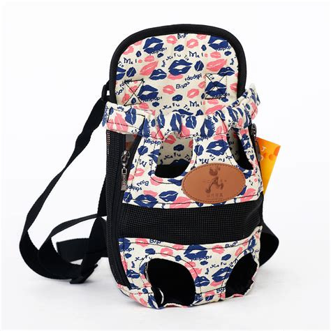 Pet Backpack Harness Leash Cat Tas Bag Tali Anjing Kucing Hewan hoopet carrier fashion color travel backpack breathable pet bags shoulder pet puppy