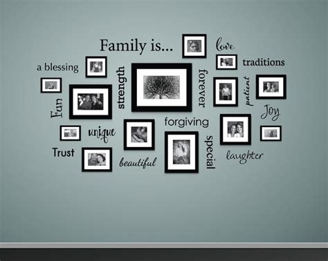 family photo wall ideas www pixshark images - Family Picture Wall Ideas