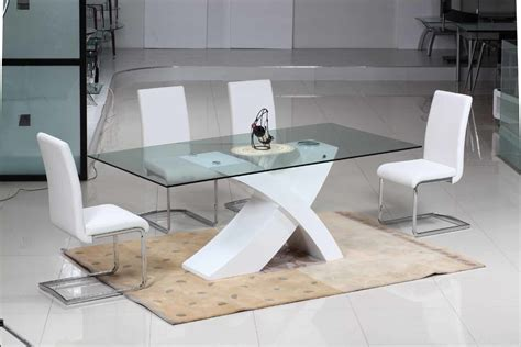 New Dining Table Designs China New Design Dining Table Sets D202 C221 China Furniture White High Glossy Dining Furniture