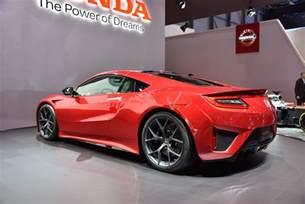 2015 Honda Nsx The All New 2015 Honda Nsx Shocks Geneva