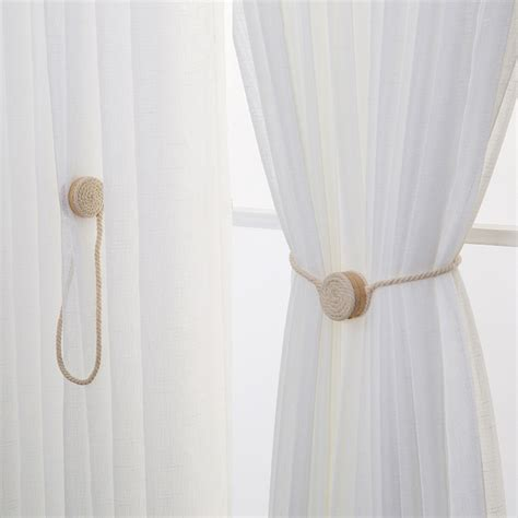 Magnetic Tie Backs For Curtains How To Make Magnetic Curtain Tiebacks Curtain Menzilperde Net