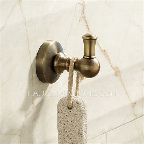 antique bronze brass bathroom accessory sets 6