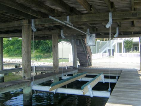 boat house lift magnum boat lift images
