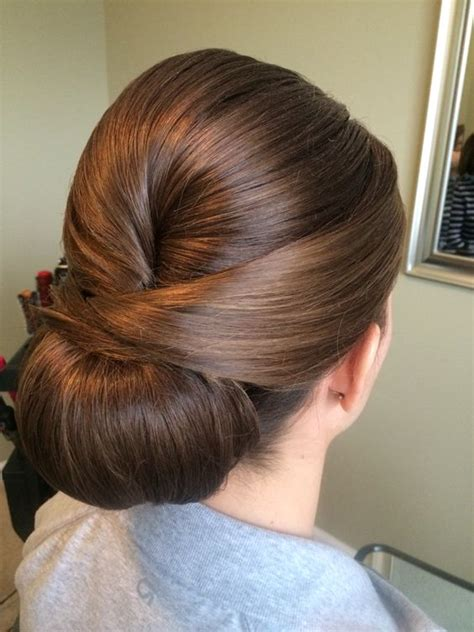 Wedding Hair Up Chignon by Sleek Chignon Updo Timeless Bridal Hair Www