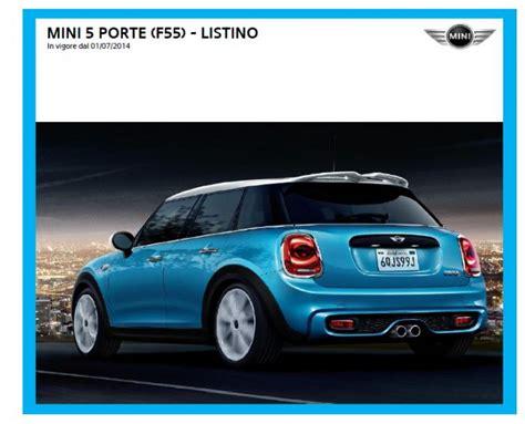 porte italia prezzi nuova mini 5 porte i prezzi in italia automobilismo