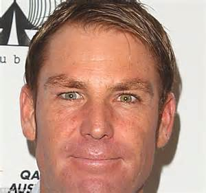 does shane warne wear a hair shane warne shares close up selfie showing his different