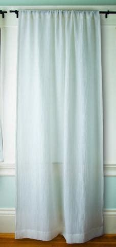 crepes and drapes sustainable sheer crinkle crepe hemp silk curtains