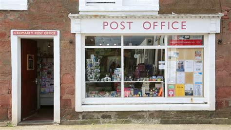 Highlands Post Office by Cromarty Highlands Uk May 14 2014 The Local Post