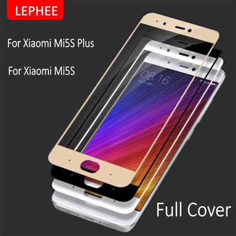Tempered Glass For Xiaomi Mi5s lephee xiaomi mi5s plus tempered glass xiaomi mi 5s plus m5 screen protector 2 5d cover