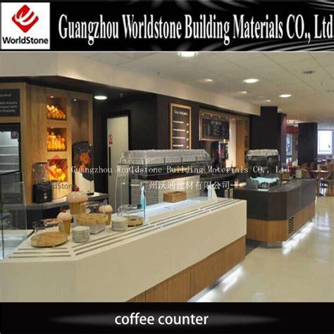 coffee shop counter design customized design coffee shop cashier counter for sale