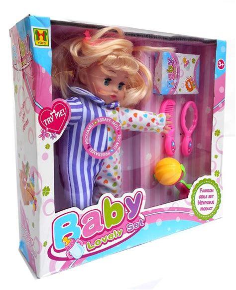 Boneka Berby Set Boneka Berbi Set Hp Mainan Anak jual laris boneka baby lovely set mainan anak bayi lucu di lapak raja toys rajatoys