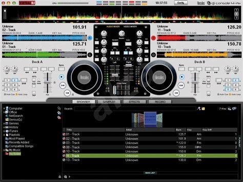 dj console mk4 software hercules dj console 4 mx mix 225 žn 237 pult alza cz