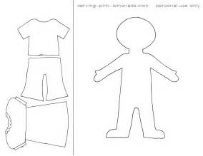 cut out person template 15 cut out template images printable paper