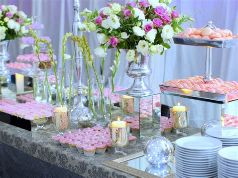 table decoration ideas for dessert table