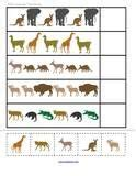 animal pattern worksheets for kindergarten 1000 images about zoo on pinterest zoos zoo animals