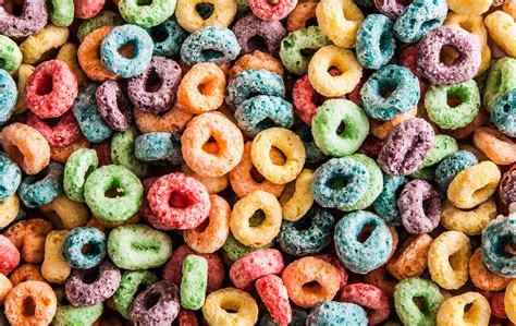 fruit loops cereal breakfast cereal as froot loops chow