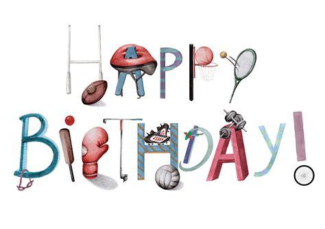 Sports Birthday Cards Sports Birthday Cards Gangcraft Net