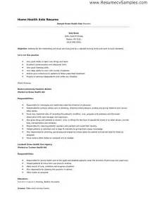 Sle Health Care Aide Resume by Home Care Aide Resume Sales Aide Lewesmr