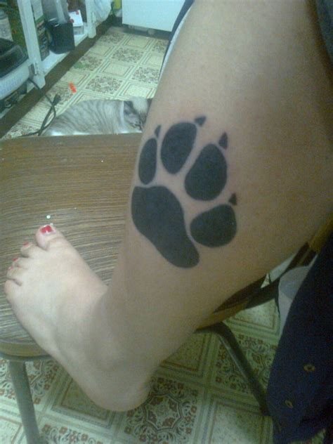 paw print tattoos designs ideas  meaning tattoos