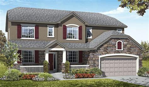 richmond american homes design center utah daniela u278 threeforks elevation b rend daniela floor