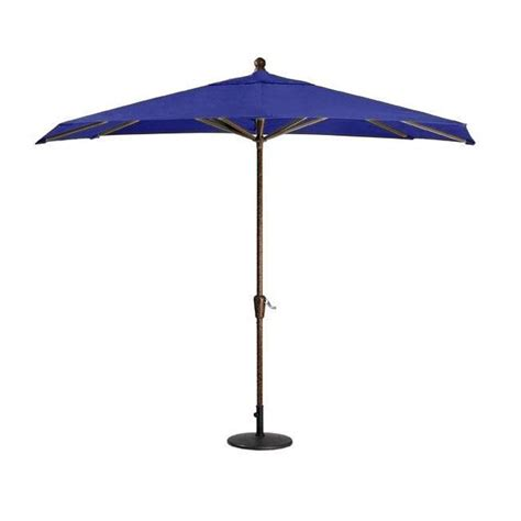 10 Foot Patio Umbrella Sunbrella 10 Ft Patio Umbrella In Blue 0132640310 The Home Depot