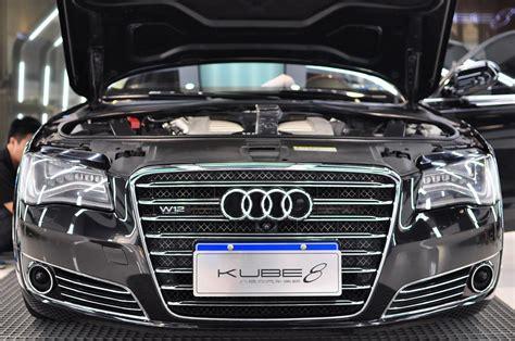 Audi A8 W12 Test by Kubebond Audi A8 W12