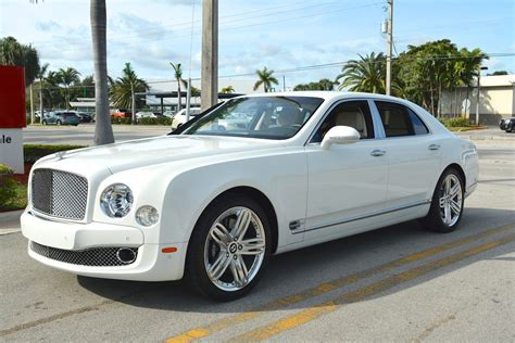 Bentley Mulsanne White Mitula Cars