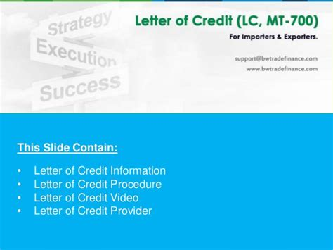 Yes Bank Letter Of Credit Avail Letter Of Credit Lc Bronze Wing Trading