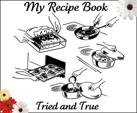 Recipe Book Cover Clipart