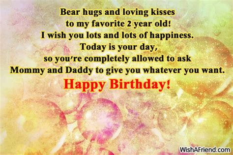 Happy Birthday Wishes For Two Year 2 Year Old Birthday Quotes Happy Quotesgram