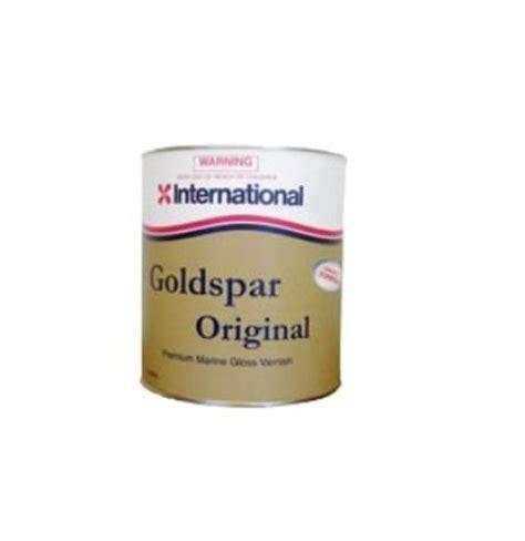 Gloss Single Original inter goldspar original gloss varnish single pack 250ml