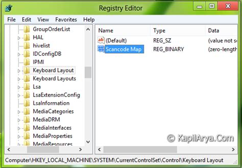 keyboard layout registry windows 8 tip registry trick to disable caps lock button in windows 8